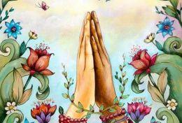 Mudra della preghiera